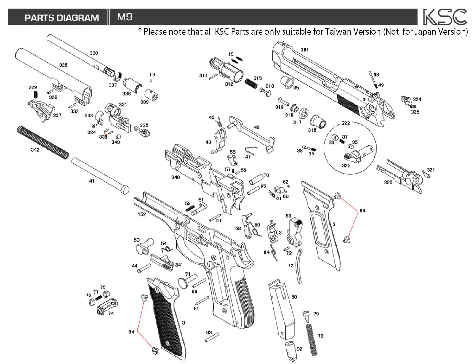 ksc m9 parts | rainbow8 company toshiba tv parts diagram